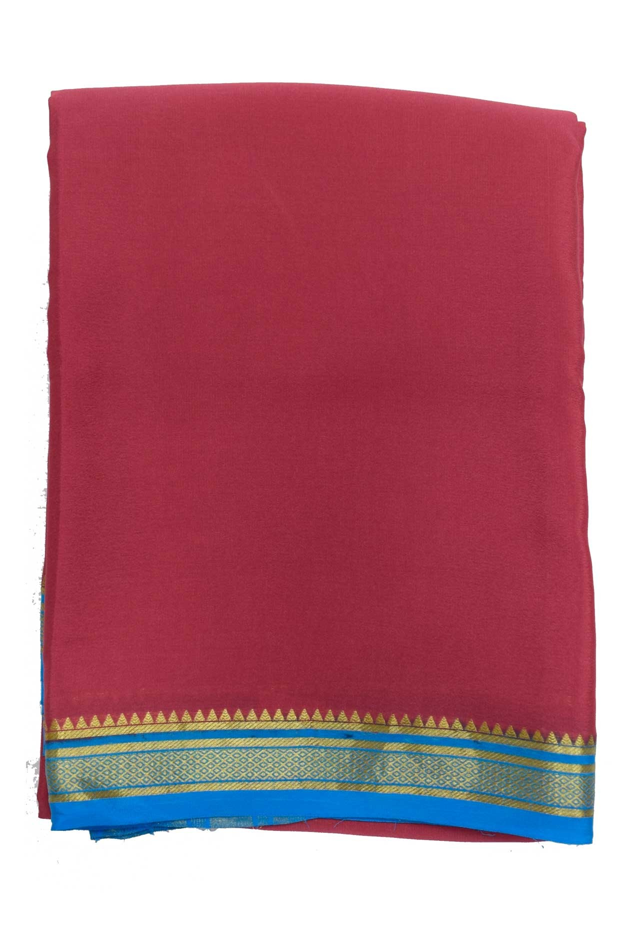 100% Pure Crape Mysore Traditional Silk Saree SC-38